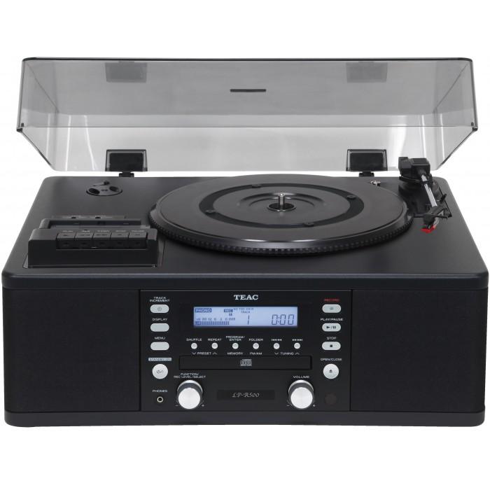 TEAC LP-R500 BLACK IMPIANTO HI-FI CON GIRADISCHI