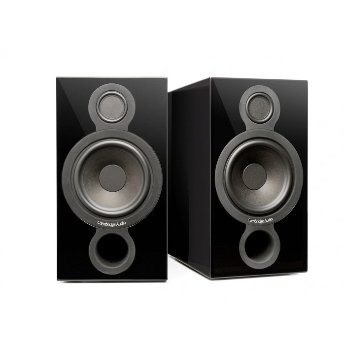 AMBRIDGE AUDIO AEROMAX 2 BLACK COPPIA DI CASSE ACUSTICHE DA SCAFFALE / STAND
