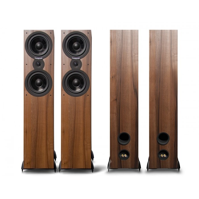 CAMBRIDGE ADIO SX80 DARK WALNUT COPPIA DI CASSE ACUSTICHE DA PAVIMENTO