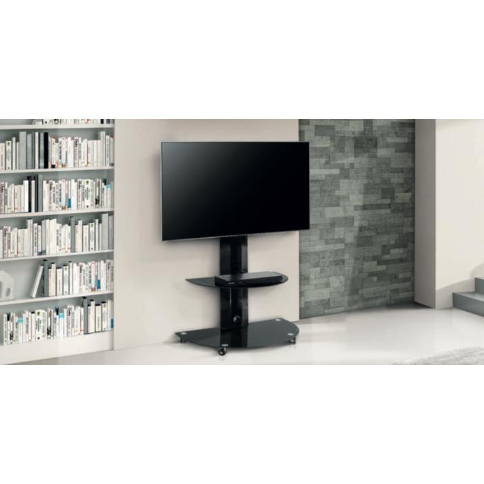 Munari ce080ne mobile porta tv fino a 50 stereodrom hi fi - Mobili porta hi fi ...