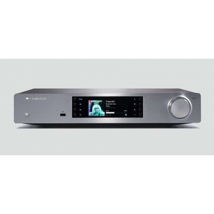 CAMBRIDGE AUDIO CX N  VERSIONE 2 LETTORE AUDIO DI RETE CON AIRPLAY E SPOTIFY SILVER