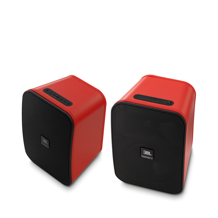 JBL CONTROL X WIRELESS Red Coppia
