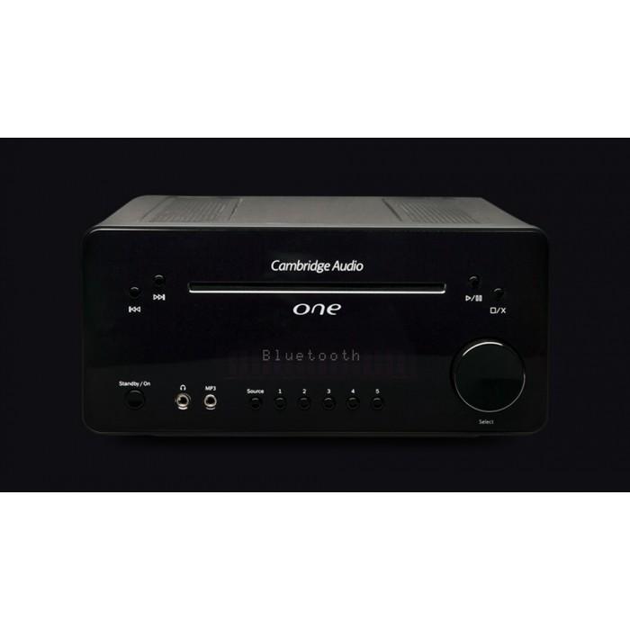 CAMBRIDGE AUDIO ONE Nero Sistema Audio Compatto con Bluetooth CD e DAC