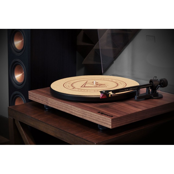 KLIPSCH DEBUT CARBON WALNUT TURNTABLE