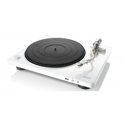DENON DP-400 USB WHITE