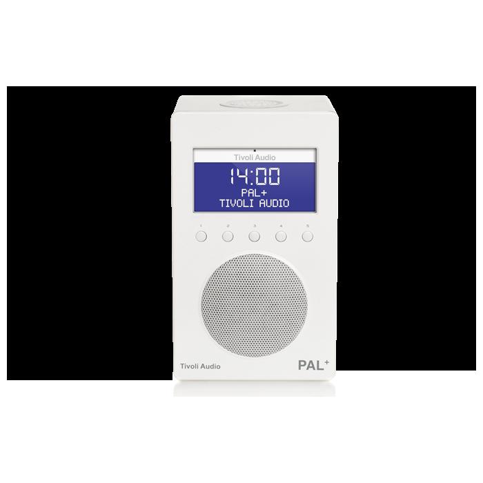 TIVOLI RADIO IPAL+ WHITE RADIO DAB/FM PORTATILE CON RDS