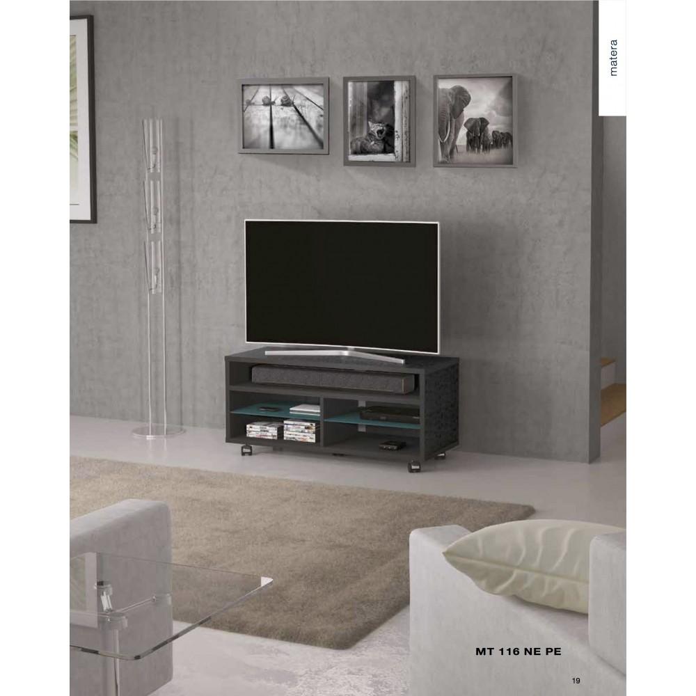 MUNARI MATERA MT116NE MOBILE PORTA TV FINO A 47\