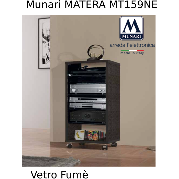 MUNARI MT159NE MOBILE POTRA TV E HIFI