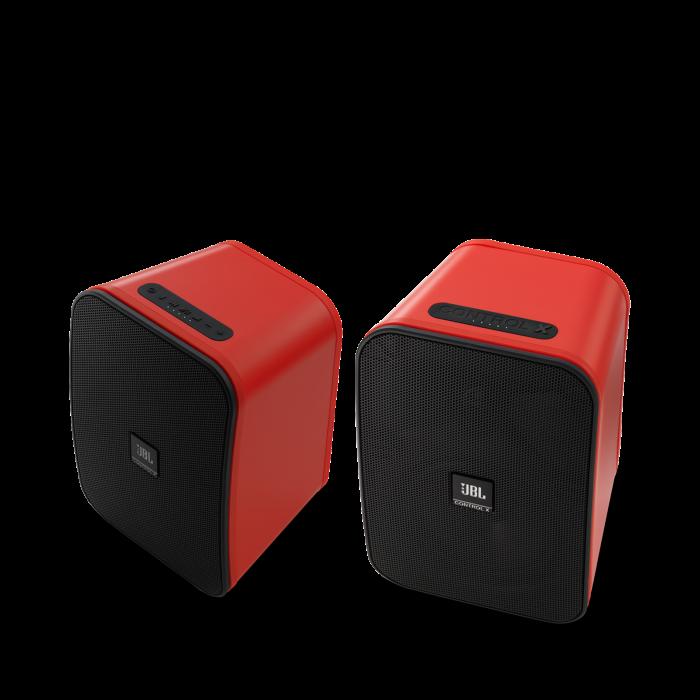 JBL CONTROL X WIRELESS Red Coppia