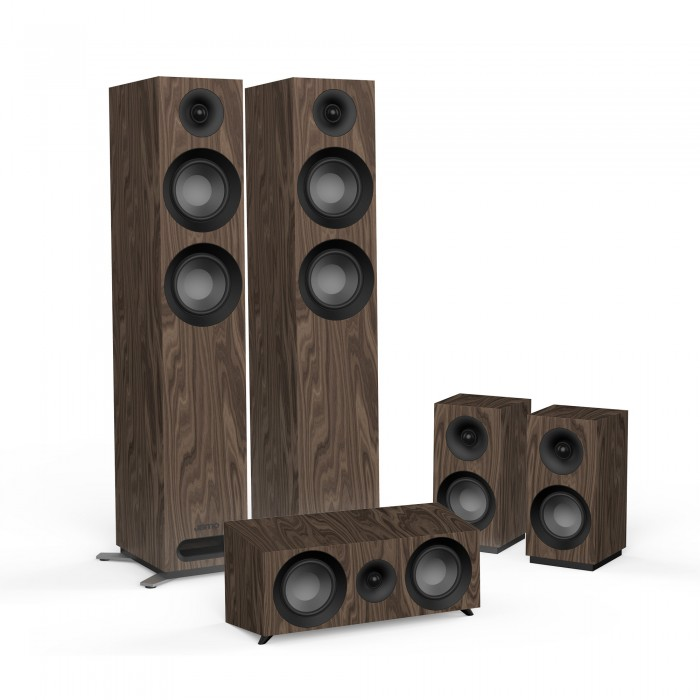 JAMO STUDIO S 807 HCS WALNUT