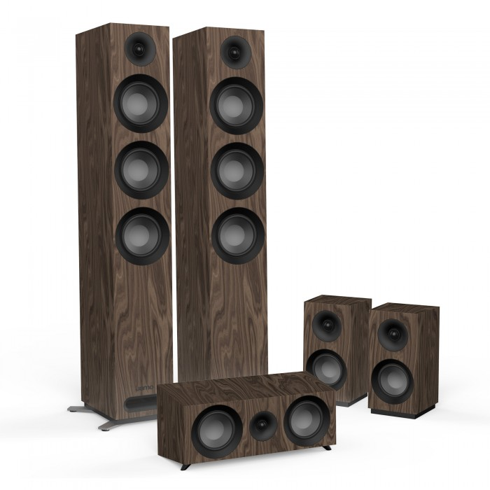 JAMO STUDIO S 809 HCS WALNUT