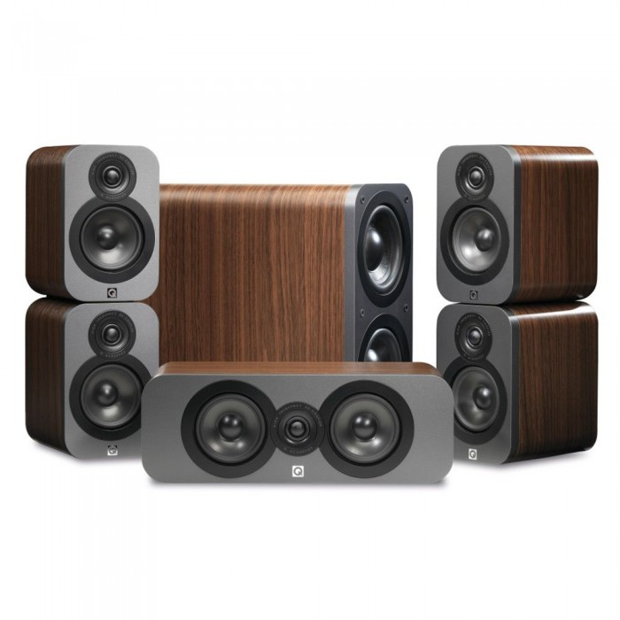 Q ACOUSTICS Q 3000 WALNUT