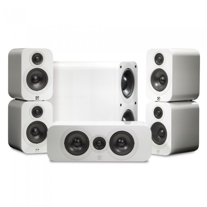 Q ACOUSTICS Q 3000 WHITE HIGH GLOSSY