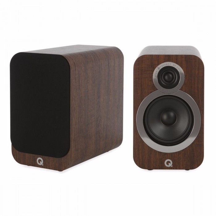 Q Acoustics 3020i Walnut