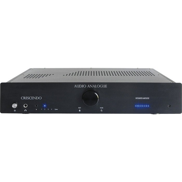 AUDIO ANALOGUE CRESCENDO AMPLIFICATORE STEREO AIRTECH BLACK