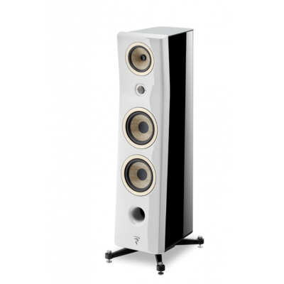 FOCAL KANTA N°3 Carrara White - Black High Gloss
