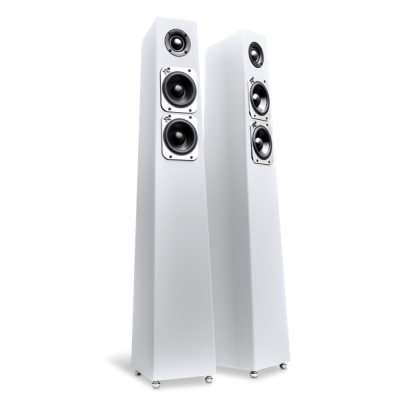TOTEM Tribe Tower Satin White
