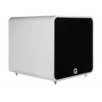 Q ACOUSTICS QB 12 SUBWOOFER WHITE HIGH GLOSSY